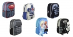 Rucksack 31cm 3D-Look STAR WARS BATMAN SUPERMAN DISNEY FROZEN