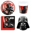 Star Wars Pappteller Plastikbecher Serviette Maske
